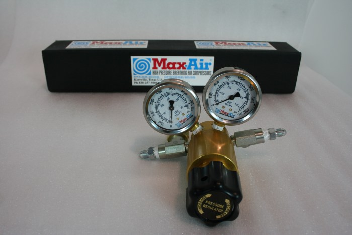 Max-Air AE-415 Econo Regulator Complete with RV-504