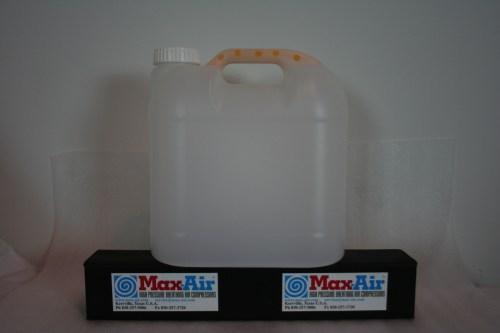 Max-Air Condensate Jug with Mufflers