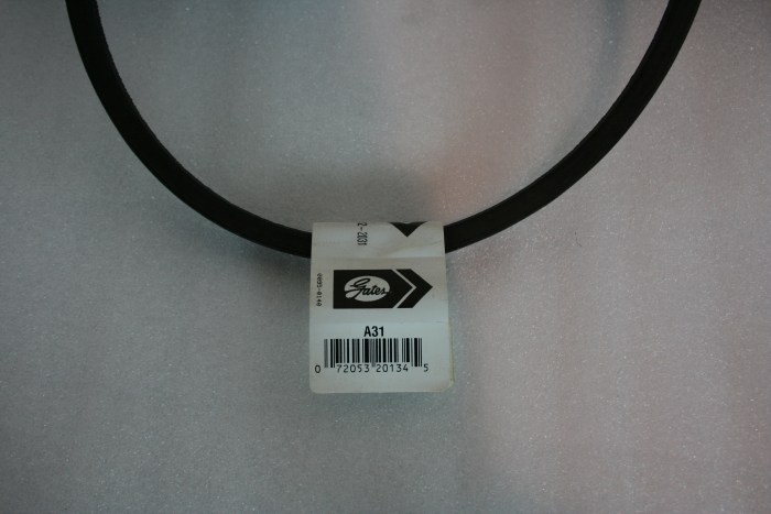 Drive Belt AX30 for Max-Air 35 E-1or E-3 Compressor