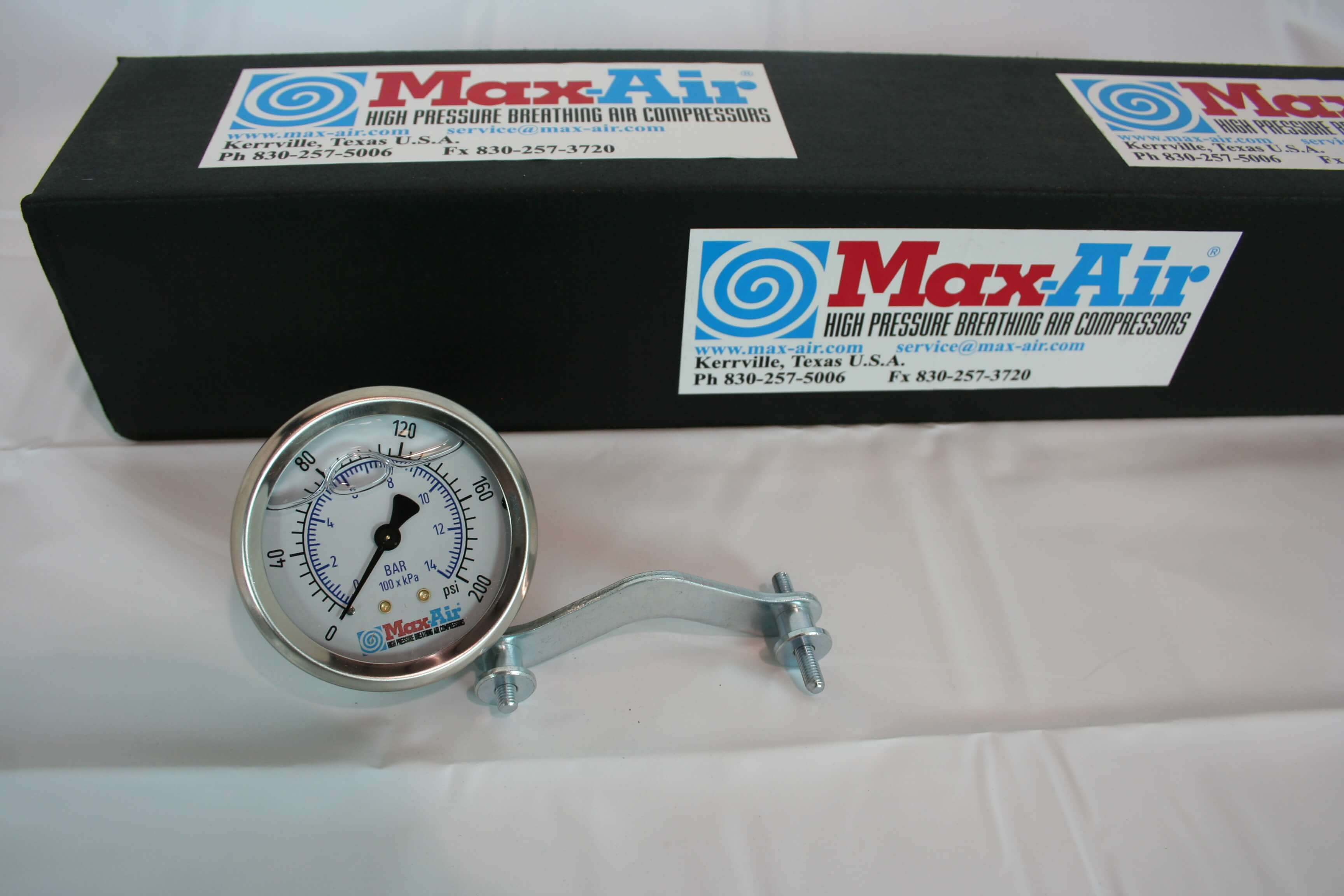 Max-Air Pressure Gauge PG-200 Back