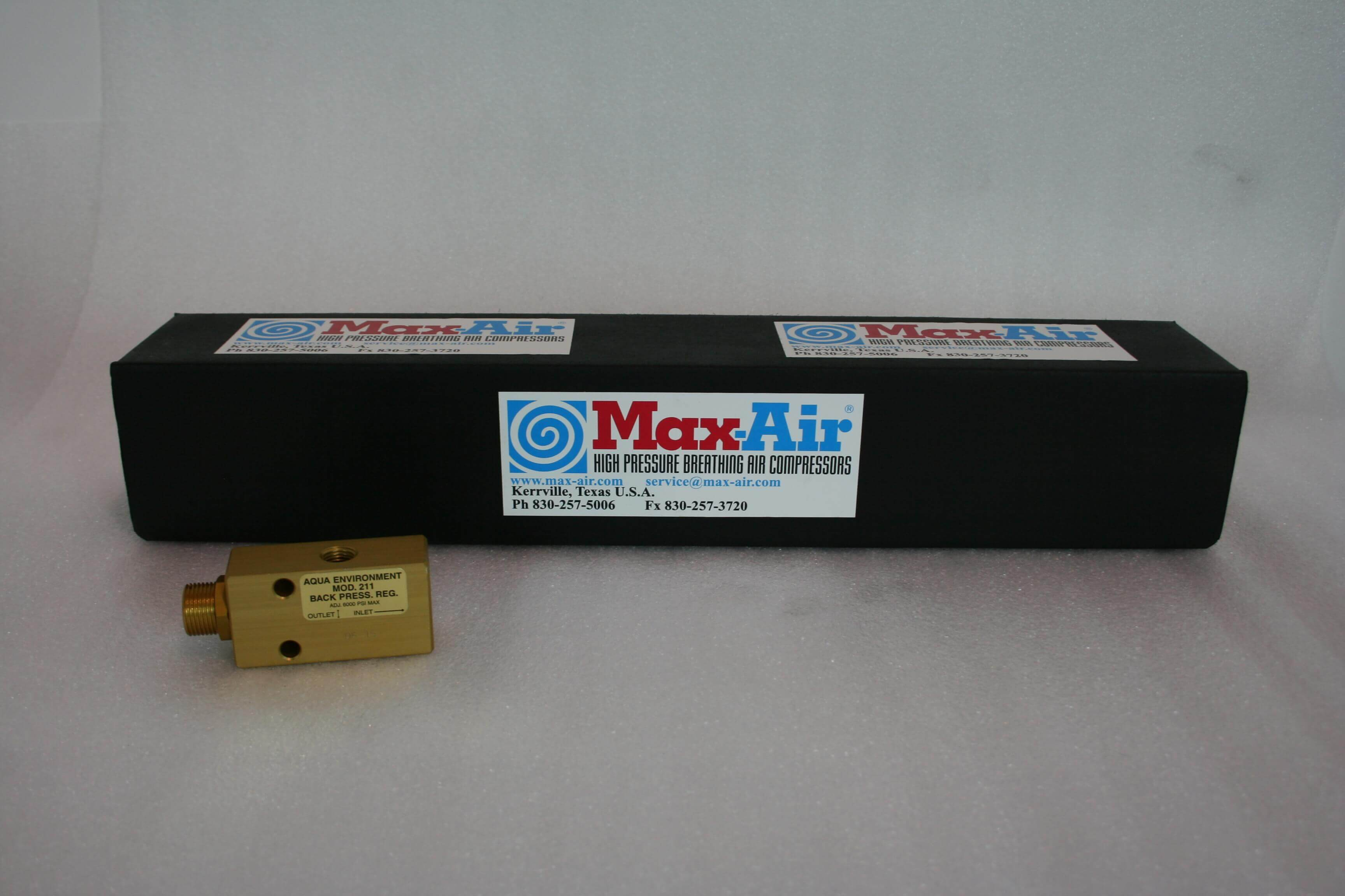 Max-Air Pressure Maintaining Valve MA-211