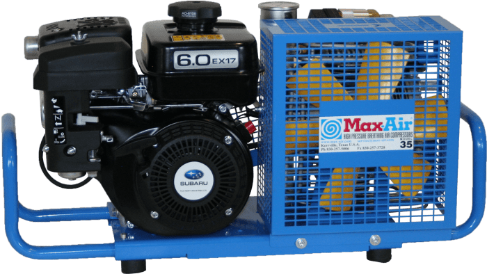 Max-Air 35 STD GS Portable Air Compressor