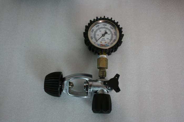 Max-Air SCBA Pressure Verification Gauge