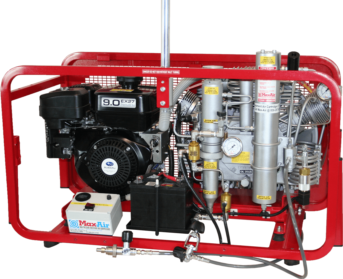 Max-Air 90 PBAC GS Loaded Air Compressor