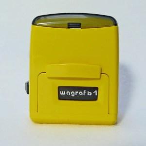 Automat Wagraf b1s zółty zamknięty