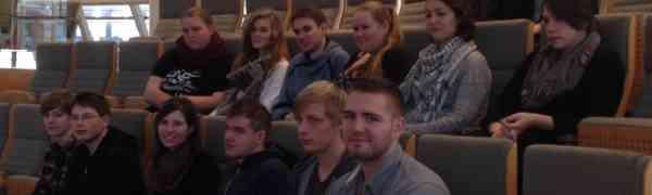 Exkursion zum Landtag