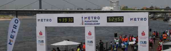 Das Max-Weber-Berufskolleg lief erfolgreich mit beim Metro-Marathon 2018 in Düsseldorf