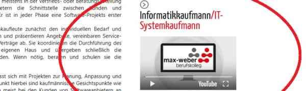 Das Max-Weber-Berufskolleg stellt nun alle Bildungsgänge ab sofort mit kurzen Videos vor.