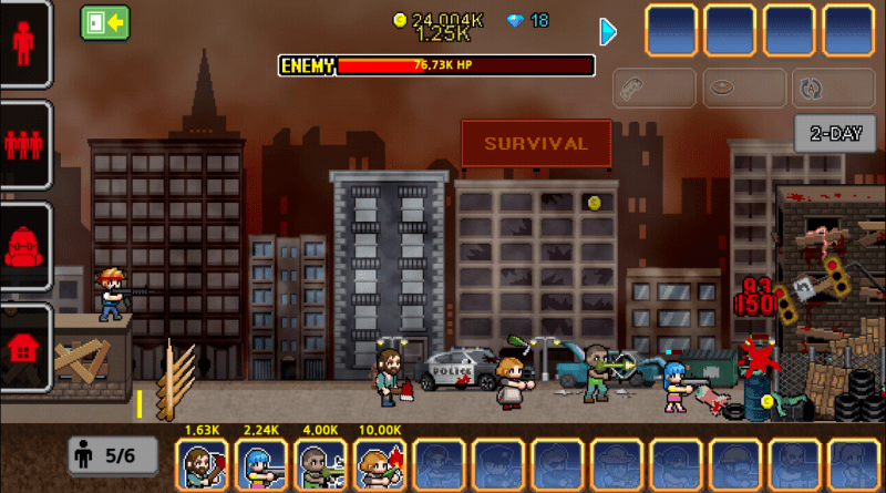 100 Days - Screenshot - Zombie Apocalypse