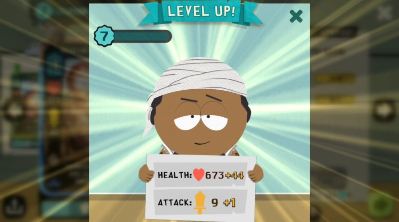 South Park - Phone Destroyer - Level Up