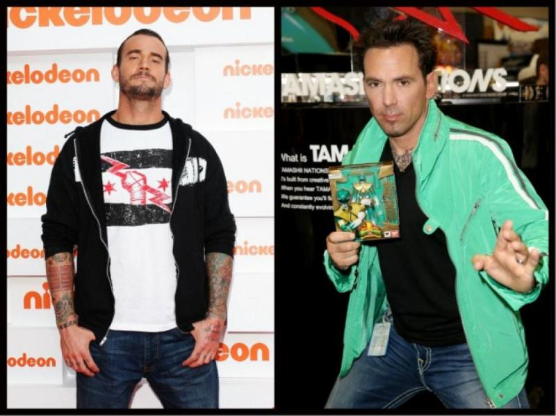 Jason David Frank - The Green Ranger - New York Comic Con vs CM Punk