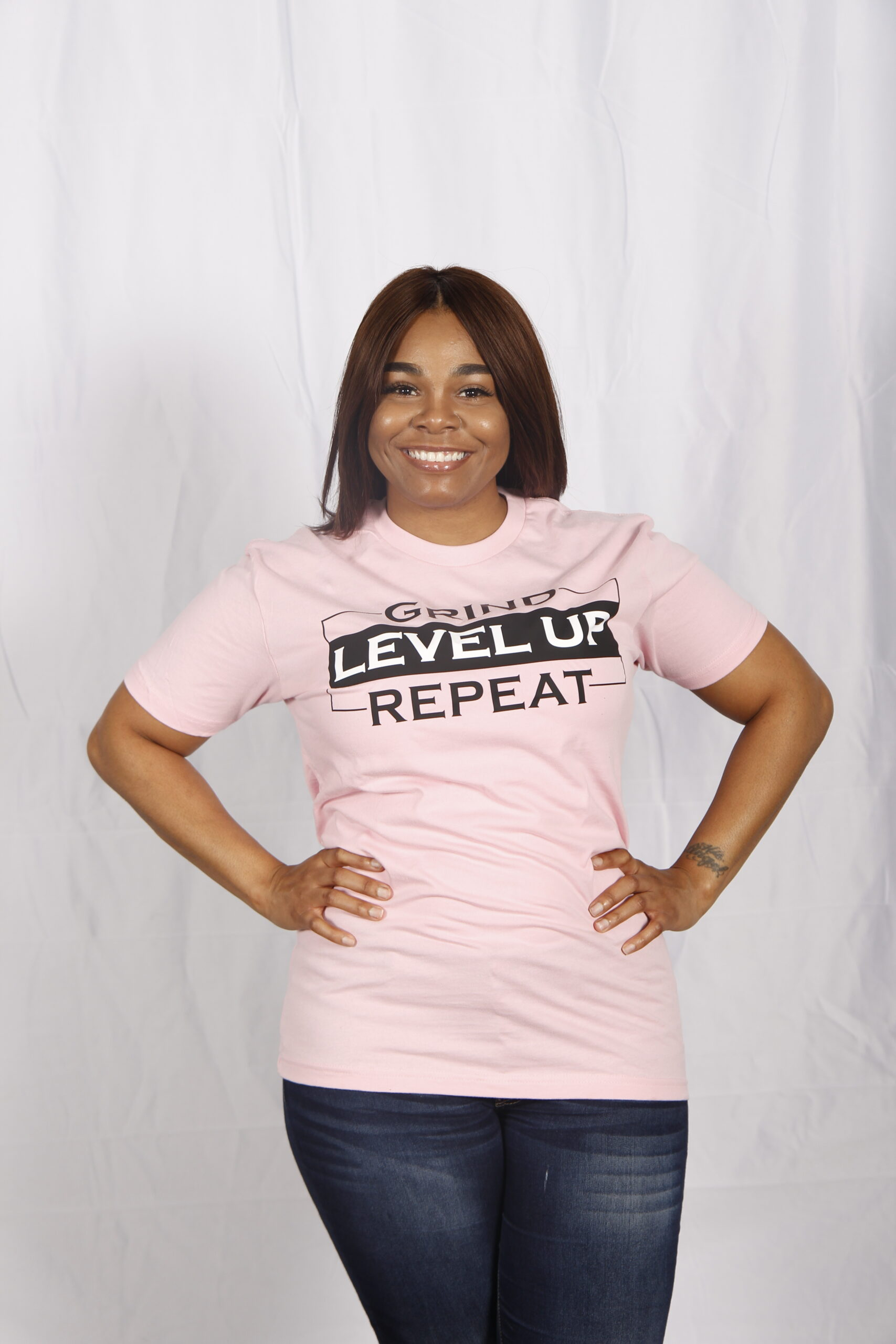 Grind - Level Up - Repeat T-Shirt - Max@Play