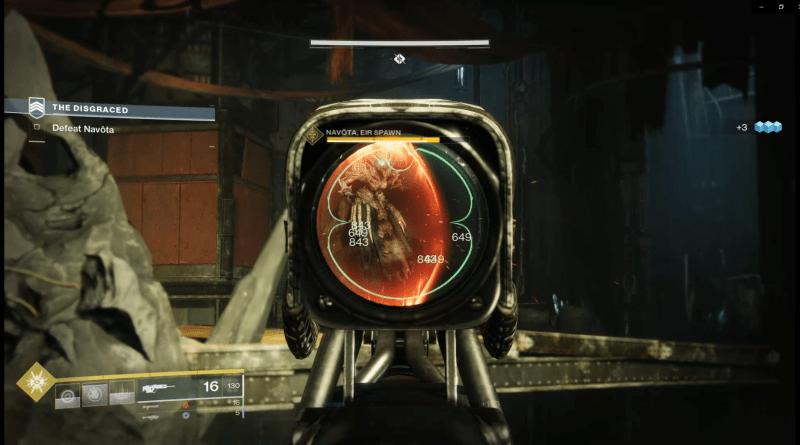 Destiny 2 - Taking down Navota