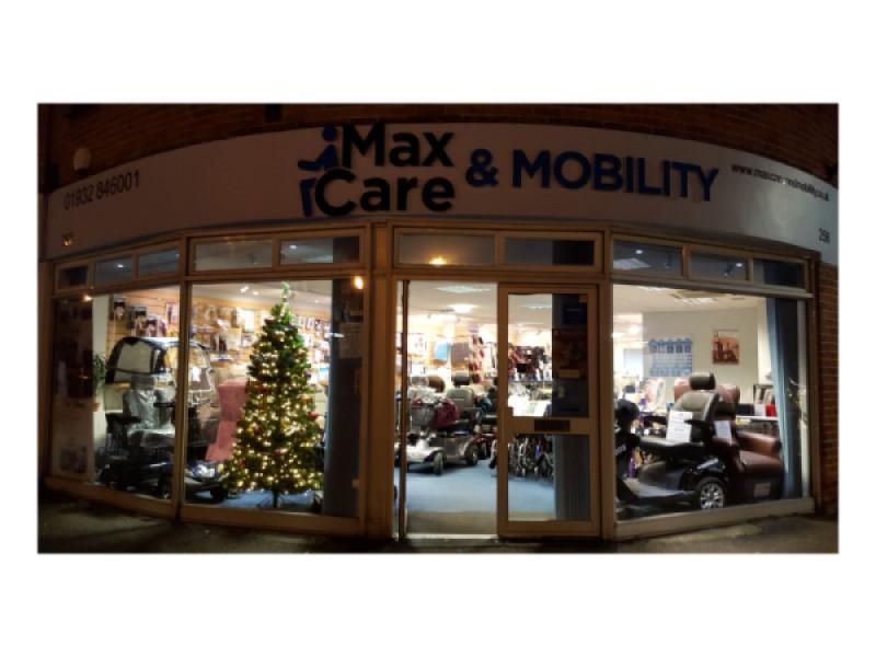 Christmas Shop Front