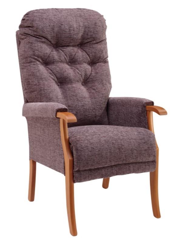 Day Chair - Avon - Kilburn - Mink + Light Oak