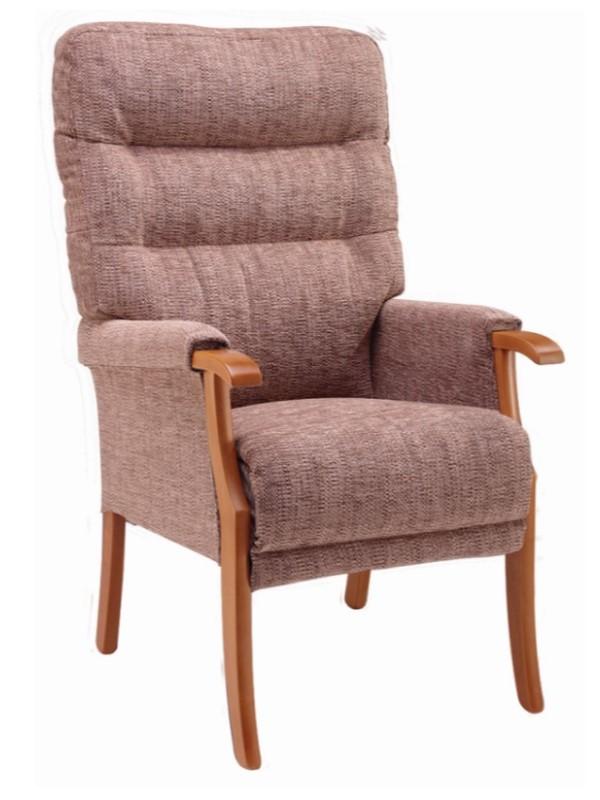 Day Chair - Orwell - Kilburn - Cocoa + Light Oak