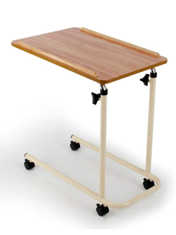 Table - Over-bed - with wheels