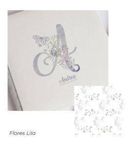 16 Flores Lila