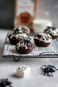 muffins halloween toiles d'araignée