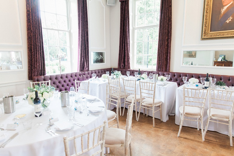 Reception Room at Belair House in London
