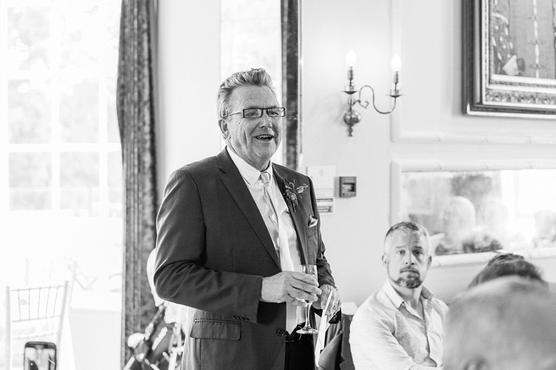 Father Of The Bride Saying His Speech