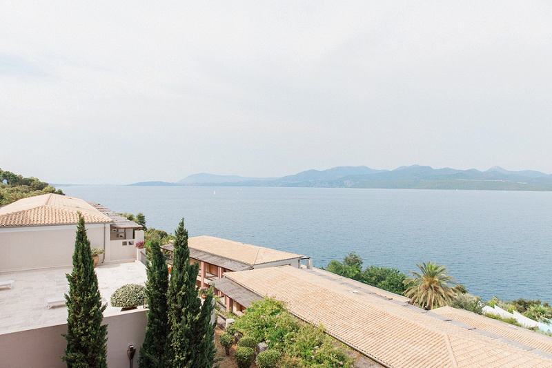 Beautiful View of the Ocean From Ionian Blue Hotel