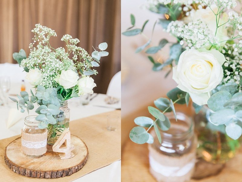 Rustic Details with Eucalyptus and Wood