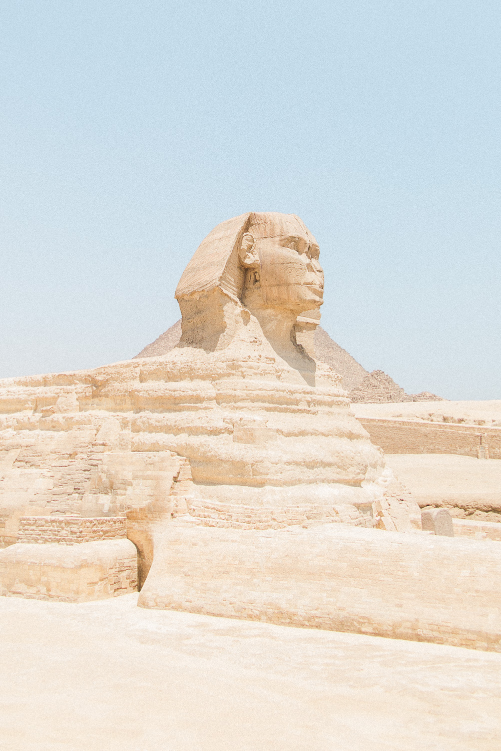 The Great Spinx of Giza in Egypt
