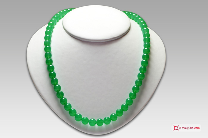 Masterpiece Chrysoprase Necklace by MaxGioie
