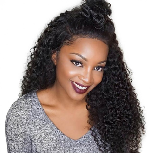cheap real hair wigs | brazilian hair | deep wave hairstyles | short hair | human hair | 7a | black hair | 14 inch - maxglam