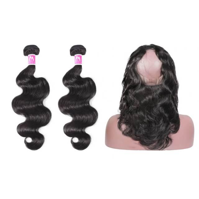 bob bundles   peruvian hair   body wave hairstyles   shoulder length   human hair   7a   black hair   16 inch - maxglam