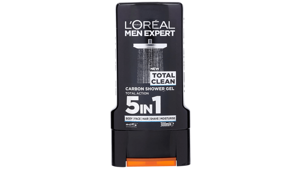 loreal 5 in 1 shower gel for men