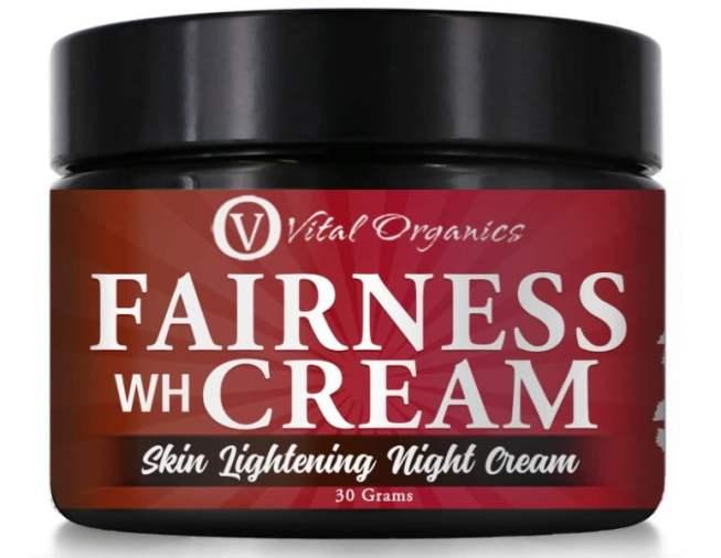 Vital Organics Fairness Cream For Skin Whitening & Lightening For Men & Women