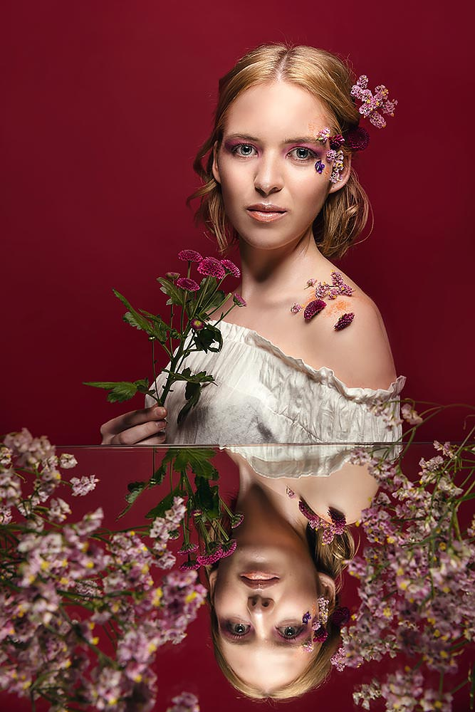 Makup Fotoshooting Max Hörath Design