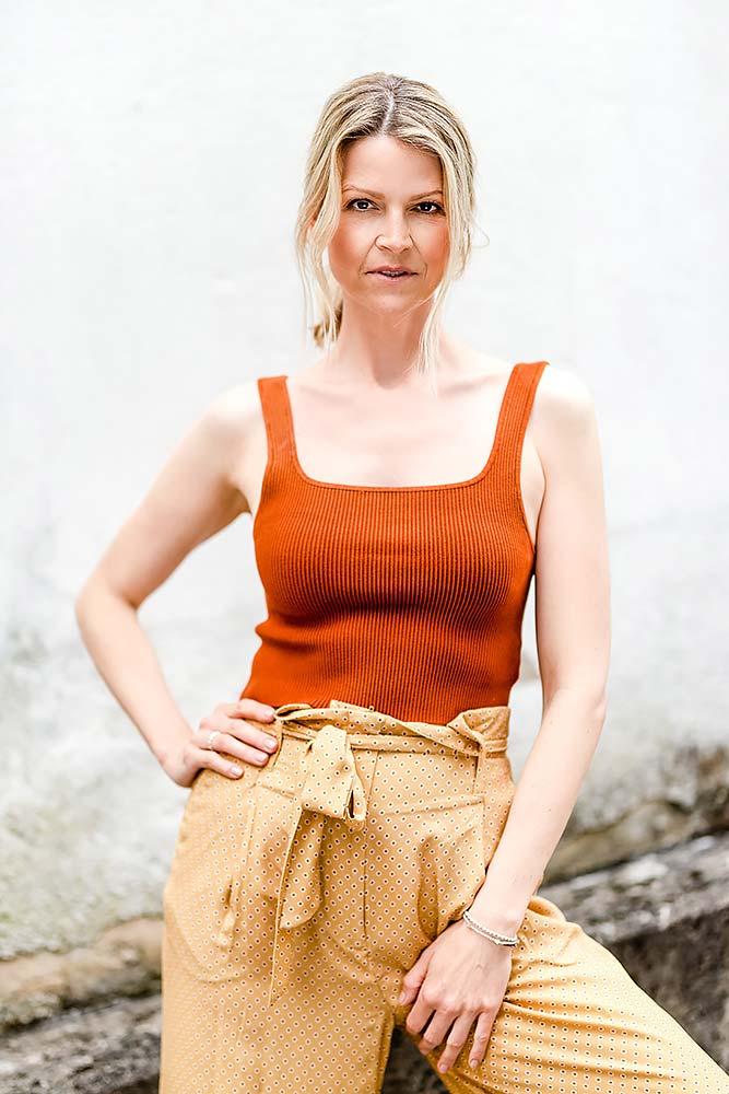 Portrait Fotokurs mit einem Model