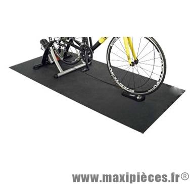tapis pour home trainer ebon noir 172x61x0 4 accessoire velo pas cher