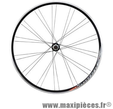 roue route course 700c arriere mach1 omega 22 moyeu miche velox blocage cassette campagnolo 10 11 vitesse