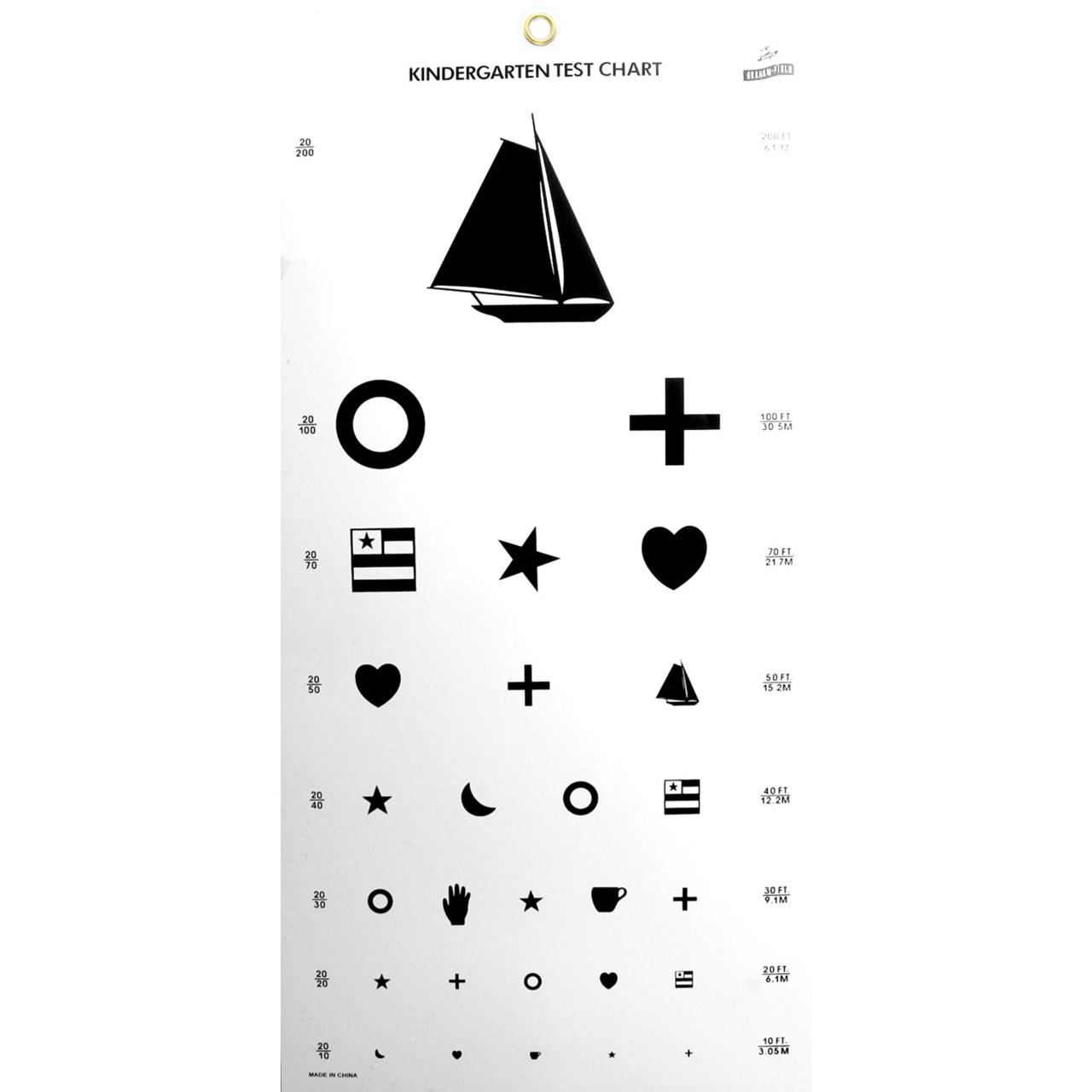 image about Snellen Chart Printable referred to as Kid Eye Verify Chart Printable