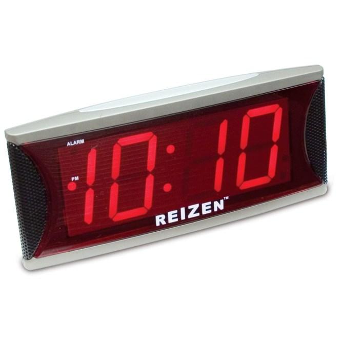 Reizen Jumbo Super Loud Alarm Clock