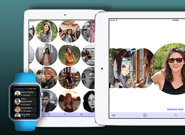 ContactFlow iPhone iPad