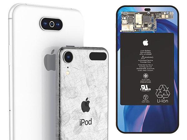 concept iphone 11 xi nouveau 2019 ipod touch 2 - Apercu du Prochain iPhone 11 avec Ecran 7 Pouces (images)