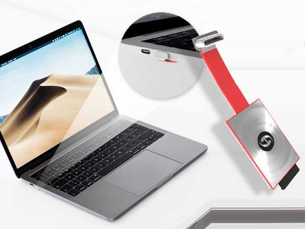 istorh micro lecteur cartes sd usb c macbook pro 1 - Invisible Lecteur de Cartes SD pour MacBook USB-C (video)
