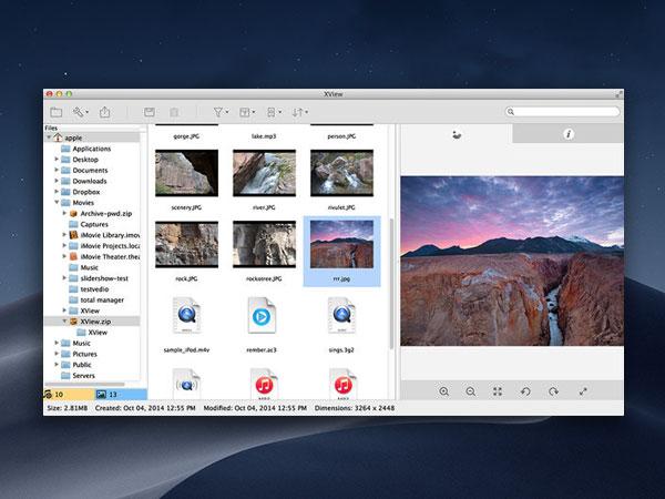 imageviewer mac macos 001 - ImageViewer Mac - Lecteur Multimedia avec Archiveur (gratuit)