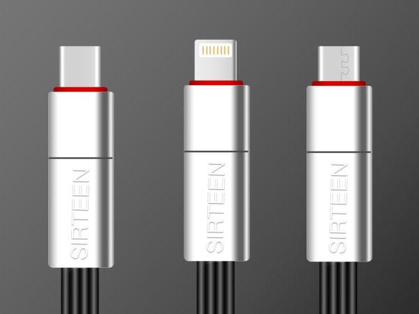 sirteen cable usb c lightning reparable reutilisable 2 - SirTeen, Cable Lightning et USB-C Réparable à Vie (video)