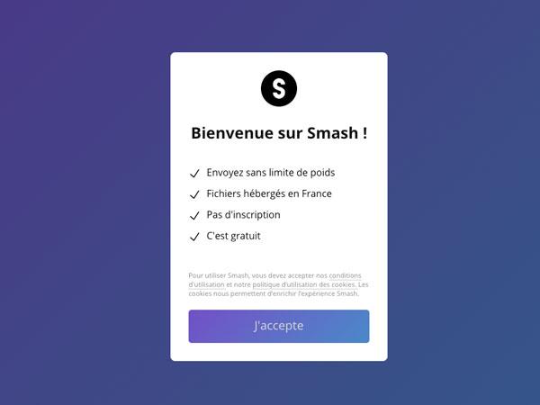 fromsmash com smash transfert gros fichiers gratuit 1 - Smash, Transfert et Stockage Illimité de Gros Fichiers (gratuit)