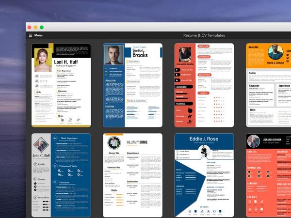 Ipro Mac 100 Modeles De Cv 2021 Pour Pages Ms Word Maxiapple Com