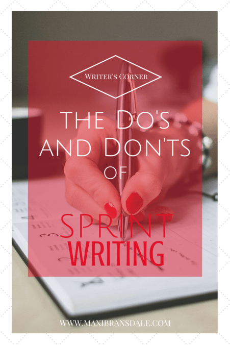 dos and donts of sprint writing