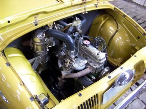 O motor Ventoux do Gordini