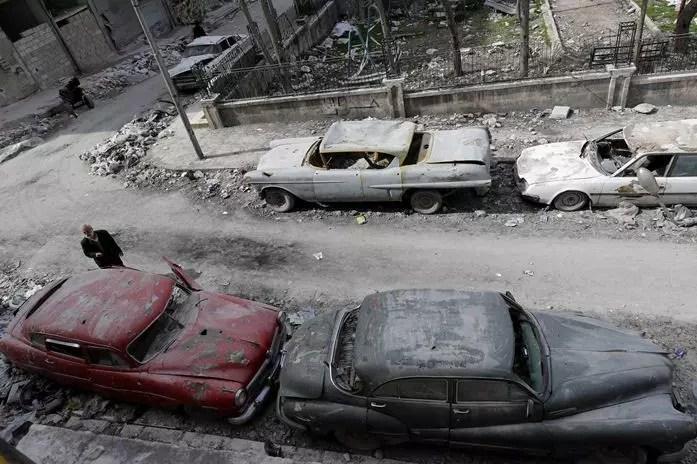 10 - Colecionador Sírio - Foto AFP