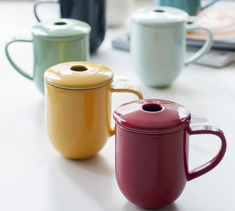 mug avec infuseur et couvercle 300ml